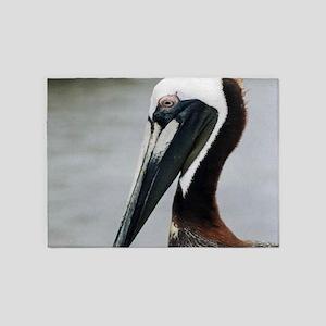 The Pier Pelican 5'x7'Area Rug