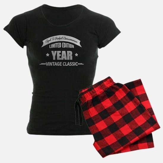 Personalized Birthday Aged T pajamas