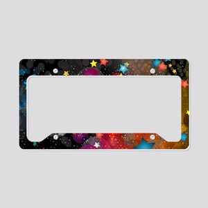 Party Stars Decorations Patte License Plate Holder