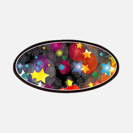 Party Stars Decorations Pattern Patch