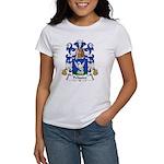 Pelissier Family Crest Women's T-Shirt