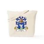 Pelissier Family Crest Tote Bag