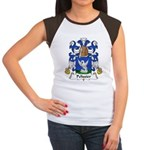 Pelissier Family Crest Women's Cap Sleeve T-Shirt