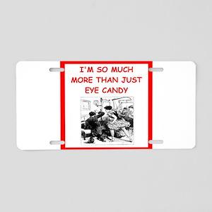 mistress joke Aluminum License Plate