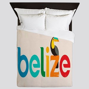 Belize Queen Duvet