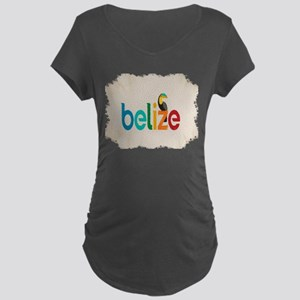 Belize Maternity Dark T-Shirt