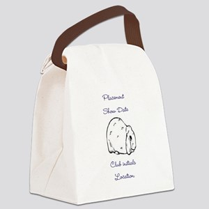 Basic Mini Lop Award 1 Canvas Lunch Bag