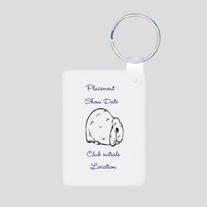 Basic Mini Lop Award 1 Keychains