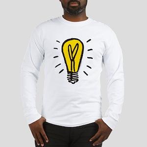 Monopoly Light Bulb Long Sleeve T-Shirt