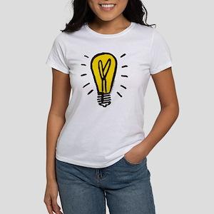 Monopoly Light Bulb Women's Classic White T-Shirt