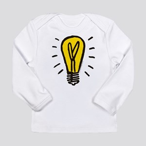 Monopoly Light Bulb Long Sleeve Infant T-Shirt