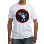 USS CAPERTON Fitted T-Shirt