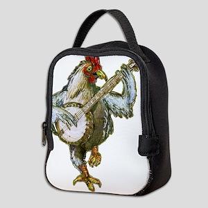 Banjo Chicken Neoprene Lunch Bag