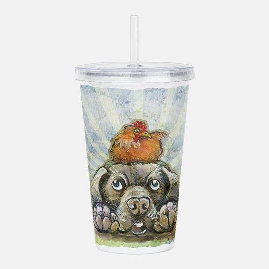 The Chicken and the Do Acrylic Double-wall Tumbler