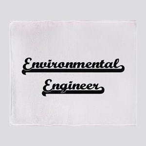 Environmental Engineer Artistic Job Throw Blanket