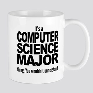 Its A Computer Science Major Thing Mugs