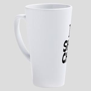 I Love Show Choir 17 oz Latte Mug