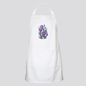 Purple Iris Apron