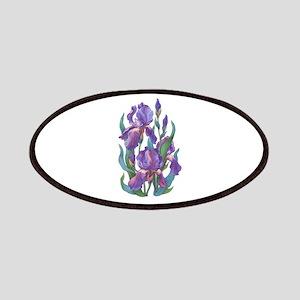 Purple Iris Patch