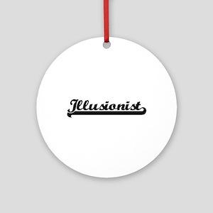Illusionist Artistic Job Design Ornament (Round)