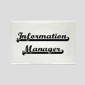 Information Manager Artistic Job Design Magnets