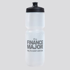 Its A Finance Major Thing Sports Bottle