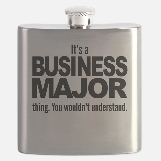 Its A Business Major Thing Flask