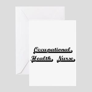 Occupational Health Nurse Artistic Greeting Cards