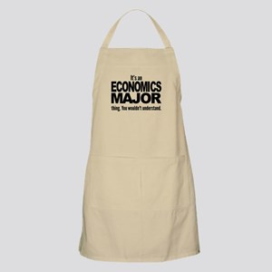 Its An Economics Major Thing Apron