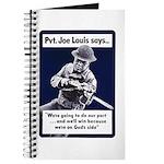 Soldier On God's Side Journal