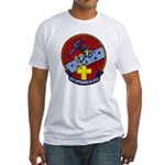 USS CAPODANNO Fitted T-Shirt