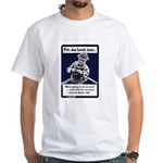 Soldier On God's Side (Front) White T-Shirt