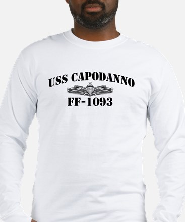 USS CAPODANNO Long Sleeve T-Shirt