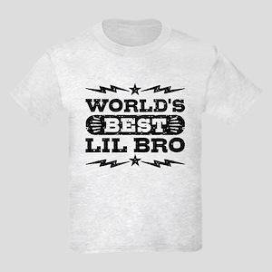 World's Best Lil Bro Kids Light T-Shirt