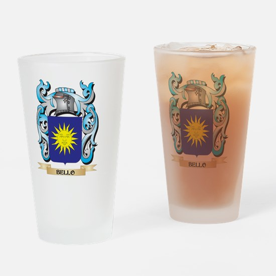 Bello Coat of Arms - Family Crest Drinking Glass