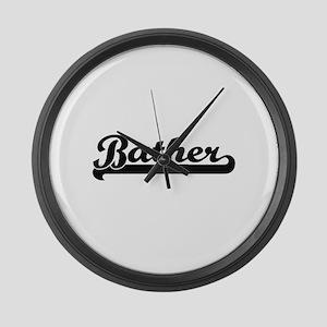 Bather Artistic Job Design Large Wall Clock