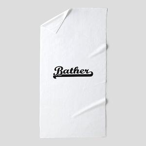 Bather Artistic Job Design Beach Towel