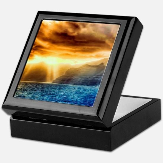 Bora Bora Island Keepsake Box