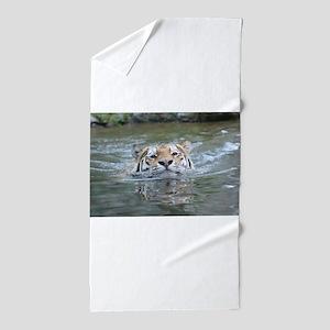 Tiger022 Beach Towel