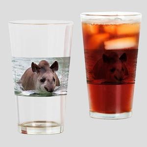 Tapir 002 Drinking Glass
