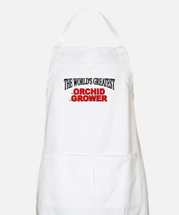 """""""The World's Greatest Orchid Grower"""" BBQ Apron"""