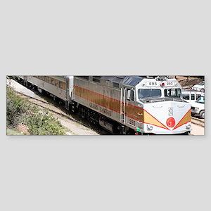 Railway Locomotive, Grand Canyon, A Bumper Sticker
