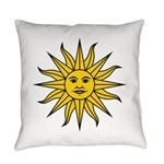 Sun of May Everyday Pillow