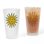 Sun of May Drinking Glass
