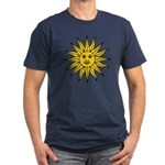 Sun of May Men's Fitted T-Shirt (dark)