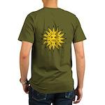 Sun of May Organic Men's T-Shirt (dark)