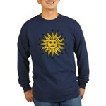Sun of May Long Sleeve Dark T-Shirt