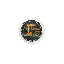 Vegan Cook Badge Mini Button