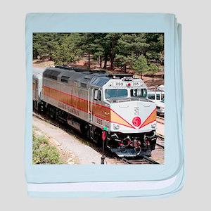 Railway Locomotive, Grand Canyon, Ari baby blanket