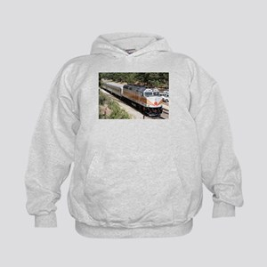 Railway Locomotive, Grand Canyon, Ariz Kids Hoodie